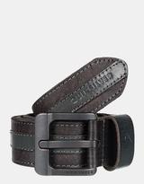 Quiksilver Mens Dual Brogue Leather Belt