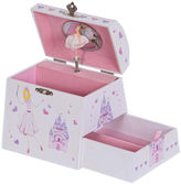 Asstd National Brand Mele & Co. Amy Musical Ballerina Wooden Jewelry Box