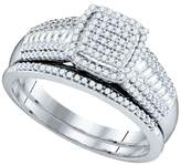 Jawa Fashion 0.40 Total Carat Weight DIAMOND MICRO-PAVE BRIDAL SET