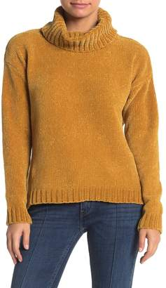 ONE ONE SIX Chenille Knit Turtleneck Sweater