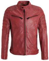 Gipsy Coulter Leather Jacket Ox Red