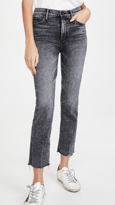 Mother High Waisted Rascal Ankle Snip Jeans