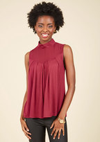 Nexxen Apparel, Inc Take Ceviche Day as It Comes Sleeveless Top in Maroon