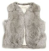 Bonpoint Toddler's & Little Girl's Rabbit Fur Vest