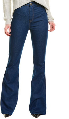 Seven For All Mankind 7 For All Mankind Modern A Pocket Avrn High-Rise Flare Leg