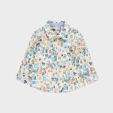 Paul Smith Baby Boys' Postage Stamp Print 'Nacim' Shirt