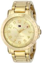 Tommy Hilfiger Women's 1781395 -Plated Watch