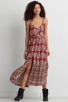 American Eagle Outfitters AE Tassel Tie Maxi Dress