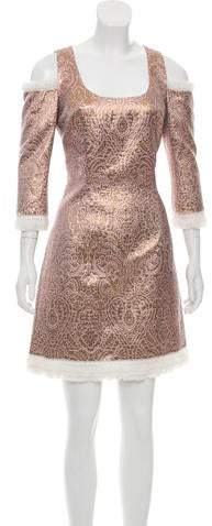 Andrew Gn 2018 Brocade Dress w/ Tags