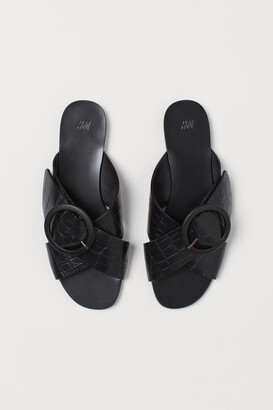 H&M Slides - Black