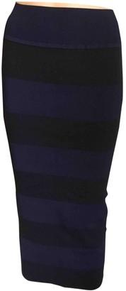 Sonia Rykiel Sonia By Navy Cotton - elasthane Skirt for Women