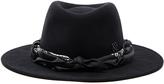 Maison Michel Thadee Masculine Plain Hat