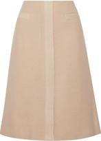 Derek Lam Brushed wool and mohair-blend skirt