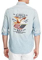 Polo Ralph Lauren Big & Tall Matlock Americana Chambray Long-Sleeve Woven Shirt