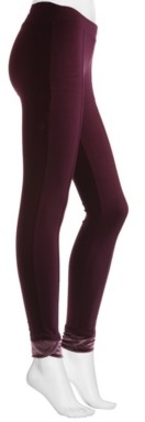 Hue Hosiery Velvet Trim Pointe Women's Leggings