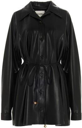 Nanushka Joy Faux Leather Mini Dress