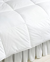 Lauren Ralph Lauren Lightweight Down Alternative Full/Queen Comforter, Lite Loft Polyester Fill, 100% Cotton Cover