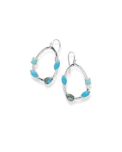Ippolita Rock Candy® Large Pear-Shaped Earrings with Mixed Stones in Turquoise