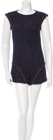 Chanel Tweed Sleeveless Romper