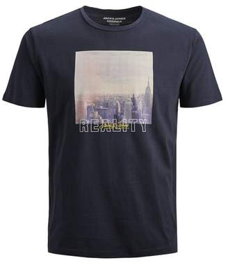 Jack and Jones Huward Crew Neck Graphic T-Shirt