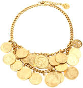 Ben-Amun Moroccan Coin Double Row Necklace
