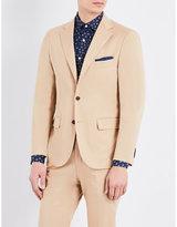 United Arrows Slim-fit cotton-blend blazer
