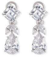 FANTASIA Mixed-Cut CZ Short Drop Earrings