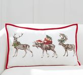 Pottery Barn Silly Stag Lumbar Pillow Cover