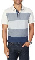 Nautica Gradient Stripe Polo Shirt