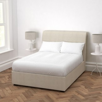 The White Company Thurloe Bed Linen, Natural Linen Union, King