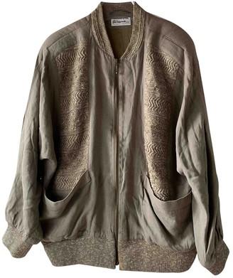 Non Signã© / Unsigned Oversize Khaki Linen Jackets