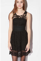 Meadow Lace Grosgrain Dress