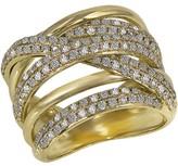 Effy Jewelry Moderna D'Oro Yellow Gold Diamond Ring, 1.47 TCW