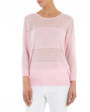 Peserico Long-Sleeve Knitted Sweater