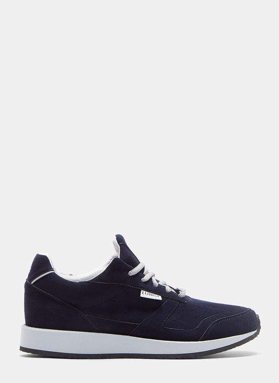 Lunge Damen Classic Walk Sneakers in Navy