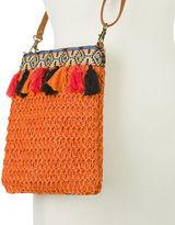 Condura NEW Harper Orange Crochet Hip Bag