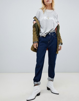 Maison Scotch High Five boyfriend jeans-Navy