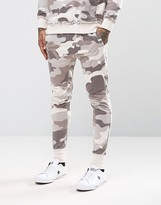 Other Uk Skinny Camo Joggers With Drop Crotch