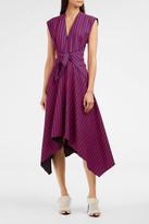 Proenza Schouler Knot-Front Dress