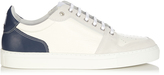 Ami Tri-colour low-top leather trainers