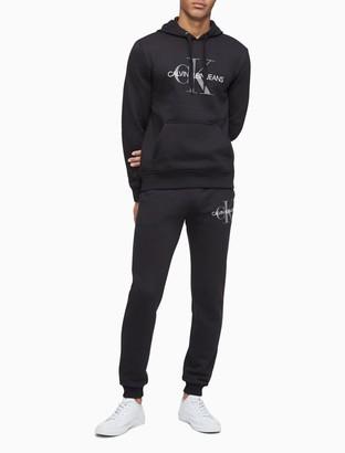 Calvin Klein Monogram Logo Fleece Hoodie
