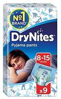 Huggies 8-15 years DryNites for Boys 9 per pack - Pack of 6