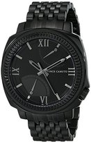Vince Camuto Men's VC/1002BKTI The Veteran Multi-Function Black Bracelet Watch