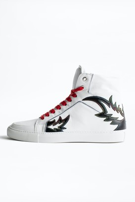 Zadig & Voltaire ZV1747 High Flame Men sneakers