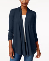 Karen Scott Cascade Cardigan, Created for Macy's