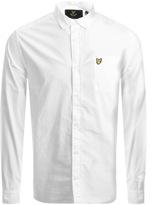 Lyle & Scott Garment Dye Shirt White