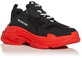 Balenciaga Men's Triple S Low Top Sneakers