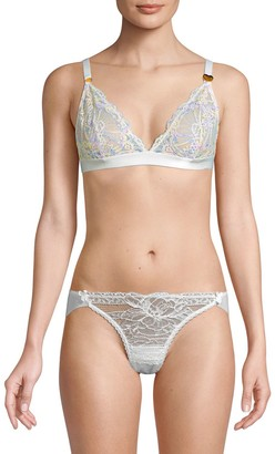 Mimi Holliday Floral Lace Triangle Bra