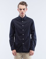 Saturdays Nyc Solid Reed L/S Shirt
