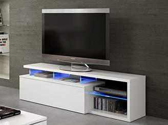 Direct Furniture Zenia - BLUE-TECH TV Unit- LED - 026630BO- WHITE
